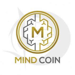 Mind Coin Logo Design