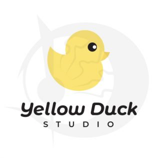 Yellow Duck Logo Design