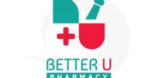 Better U Pharmacy Logo Design